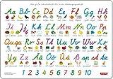 Fragenbär-Mini-Lernposter: Schulausgangsschrift + Vereinfachte Ausgangsschrift, S 45 x 32 cm: beidseitig bedruckter stabiler Karton, folienbeschichtet, abwischbar (Lerne mehr mit Fragenbär)