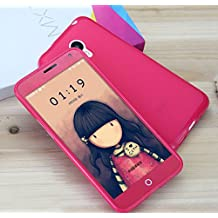 Prevoa ® 丨 MEIZU M1 NOTE Funda - Silicona TPU Funda Cover Case para MEIZU M1 NOTE 5.5 Pulgadas Smartphone - HOT PINK