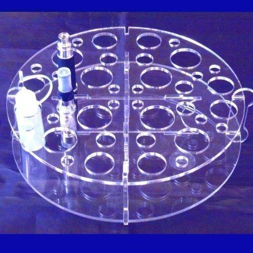 Super Cool Creations E-cig Acryl-ständer - Für Mods, Batterien, Saft + Abtropft Spitzen