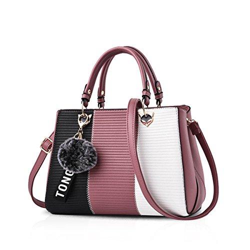 NICOLE & DORIS 2020 Neue Welle Paket Kuriertasche Damen weiblichen Beutel Handtaschen für Frauen Handtasche Rosa