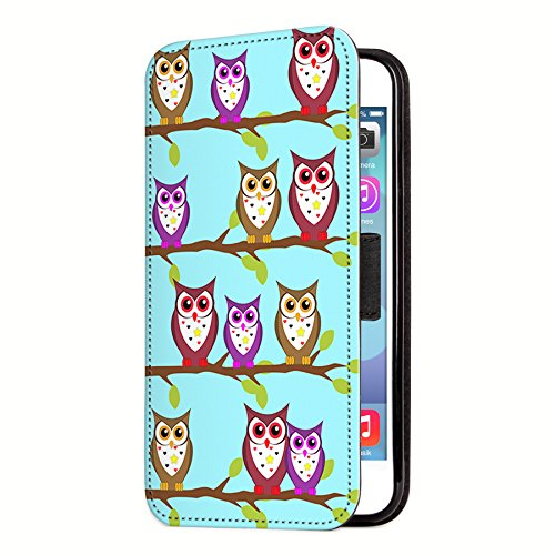 deinPhone Apple iPhone 6 Plus (5.5) Custodia Bumper Case Gufo piccolo - blu