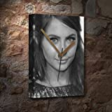 Seasons WILLA HOLLAND - Canvas Clock (LARGE A3 - Signed by the Artist) #js001