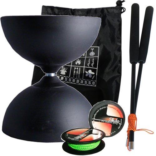 diabolo-henrys-circus-noir-en-teflon-type-all-round-noir-avec-pro-baguettes-en-carbone-et-slide-pro-
