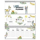 Local & Urban 4260586070118 Wochenkalender Lama ohne Datum Lama