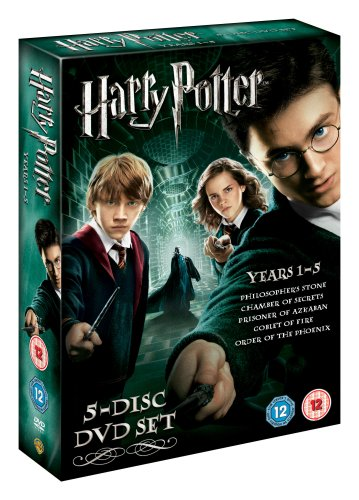 Harry Potter Years 1 5 Box Set [Reino Unido] [DVD]