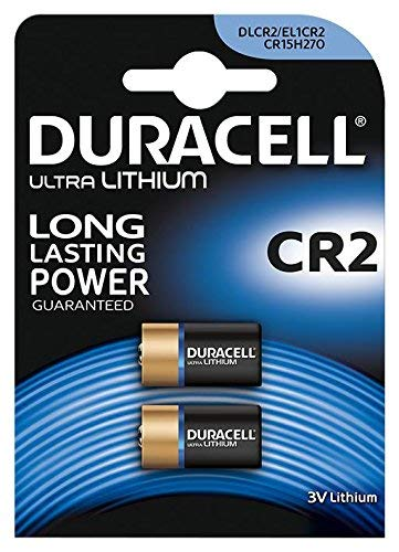 BATTERY, ULTRA LITHIUM CR2 2PK 5000394030480 By DURACELL -