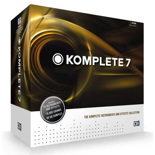 NATIVE INSTRUMENTS KOMPLETE 7 Computer Musik virtual instruments