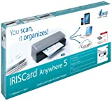 IRISCard Anywhere 5  Dokumenten-Scanner
