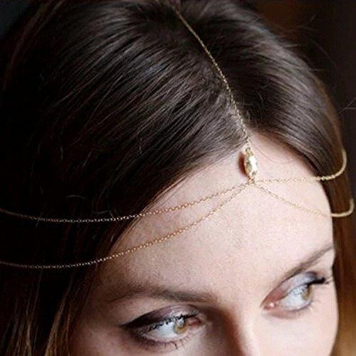 Yean Kopf Kette Haar-Accessoires für Frauen und (Haar 1920 Accessoires)