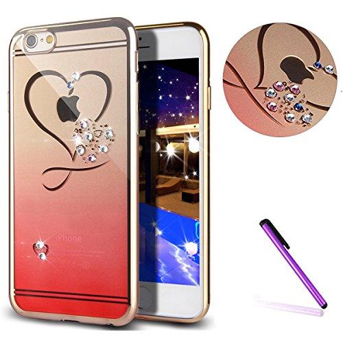 iPhone 7 Plus Crystal Clear TPU Case Hülle Silikon Gel Schutzhülle Rückschale Etui für iPhone 7 Plus 5.5 Zoll,iPhone 7 Plus Hülle Transparent,iPhone 7 Plus Hülle Silikon,EMAXELERS iPhone 7 Plus Hülle  TPU 1