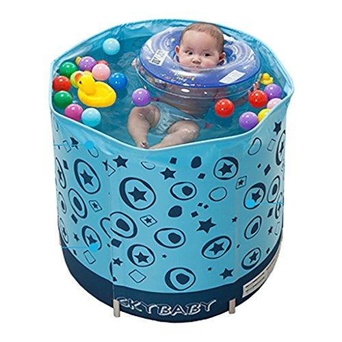 My-Schwimmbad Verdickte Isolierung Baby Pool Baby Kleinkind Aufblasbare Marine Ball Pool Kind Unterstützung Barrel Ball Ball Pool Größe: 70 * 70 cm
