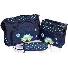 Fafada Kits Bolsa de Mama Para Bebe Biberon Bolso/Bolsa/Bolsillo Maternal Bebé para Carro Carrito Ciberón Colchoneta Comida Pañal de color