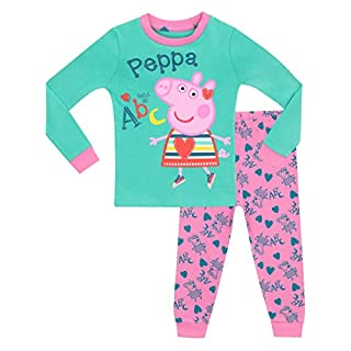Peppa Pig Girls Peppa Pig Pyjamas - Snuggle Fit - Age 2 - 3 Years