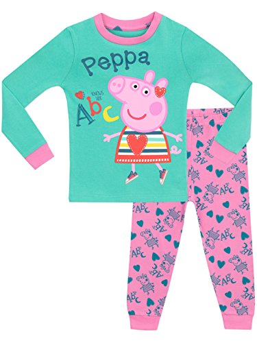 Peppa Pig Girls Peppa Pig Pyjamas - Snuggle Fit - Ages 18 Months to 8 Years
