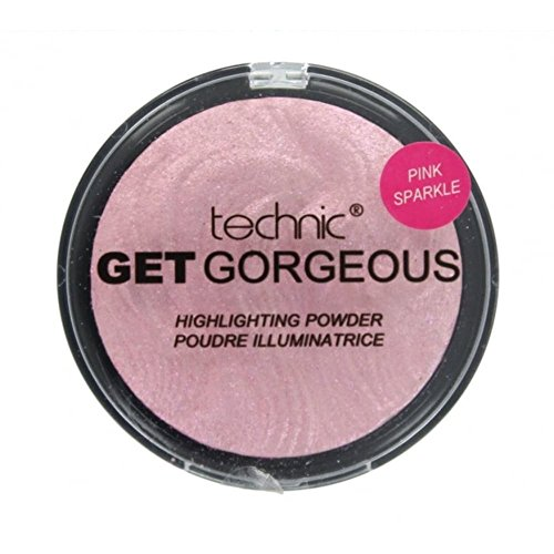 Technic Get Gorgeous Highlighting Powder 12g-Pink Sparkle