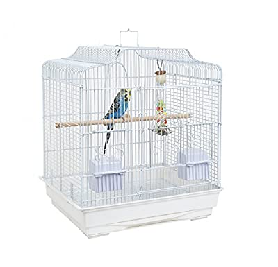 Rainforest Costa Rica Cage, White from Sky Pet Products