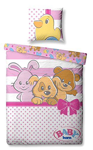 Baby born cama de animales 100cm x 135cm + 40cm x 60cm, embalaje original Niños Pequeños cama infantil