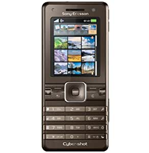 Sony Ericsson K770i brown UMTS Handy
