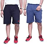 CATFISH Men's Cotton Shorts Pack Of 2(CO...