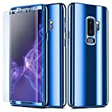 NALIA 360° Case compatible with Samsung Galaxy S9 Plus,