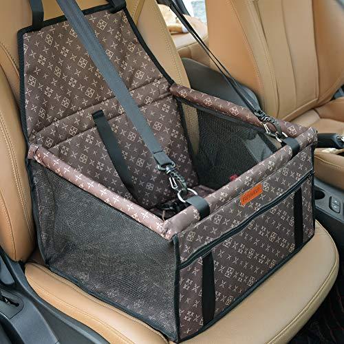 Car Booster Borsa portatile e traspirante per cani da compagnia fino a 25LB Grigio Cani Auto posto a sedere Carrier