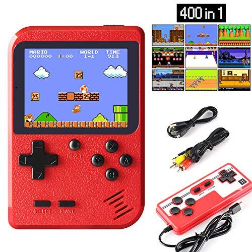 Cette console de jeu portable adopte une apparence 400 rétro, mini et légère, facile à transporter. Vous pouvez le mettre dans votre sac ou votre poche. Il est équipé d'un écran LCD coloré et prend en charge la fonction de sortie AV, vous offrant un...