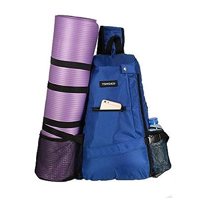 TOMSHOO Yogatasche Yogarucksack für Hot Yoga, Pilates, Fitnessstudio, Krafttraining, Wandern, Klettern, Sport, Laufen und Reisen