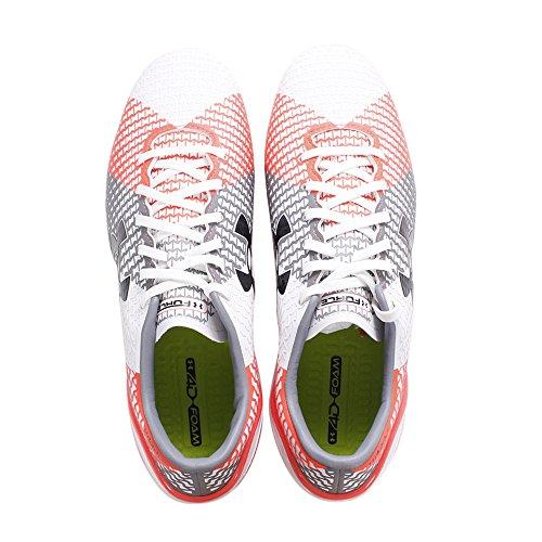 ClutchFit Force FG - Chaussures de Foot - Blanc/Acier/Feu white