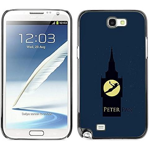 Peter Pan OYAYO Samsung Note 2 N7100 //Copertine freddi per tutti i gusti! Protezione notch superiore per il vostro Smartphone.