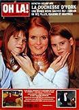 OH LA [No 17] du 14/01/1999 - LA DUCHESSE D'YORK ET SES FILLES EUGENIE ET BEATRICE - ALAIN DELON - ANOUCHKA ET ALAIN-FABIEN - ANNE GOSCINNY SE SENT ORPHELINE - CATHERINE-ZETA JONES A HOLLYWOOD - RONALD REAGAN ET NANCY - AMIRA CASAR / REVELATION DE L'ANNEE