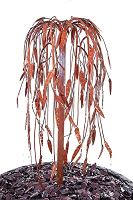 Ambiente Weeping Willow Copper Tree Cascade Water Feature from Primrose