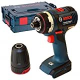 Bosch Professional GSR 18 V-EC FC2 Cordless Drill Driver (Without Battery and Charger) - L-Boxx