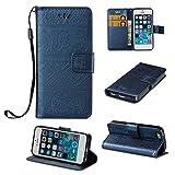 BoxTii iPhone Se 5 5s Coque, Housse Etui en Ciur [avec Gratuit Protection D'écran en...