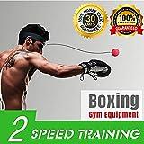van-guard Boxing reflex Ball fascia, Boxing Fight Ball on string, training to improve Hand Eye Coordination, punzonatura abilità reazione, Great Boxing Trainer Kids adulto