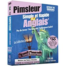 Pimsleur English for French Speakers Quick & Simple Course - Level 1 Lessons 1-8 CD: Learn to Speak and Understand English for French with Pimsleur La (Quick & Simple Basic Programs)