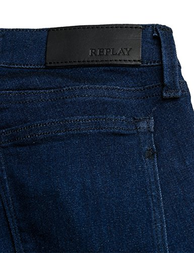 Replay Damen Jeanshose Touch_dark_blue Blau (Touch Dark Blue 7)