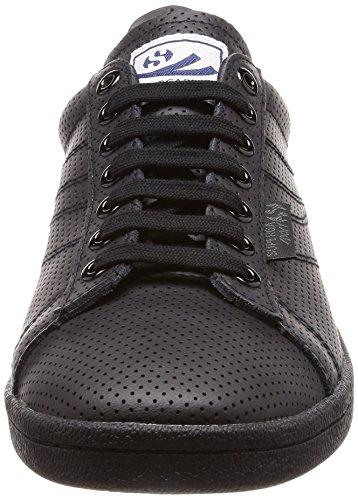 Superga 4832 Perfleau, Sneaker Unisex – Adulto Black (Total Black)