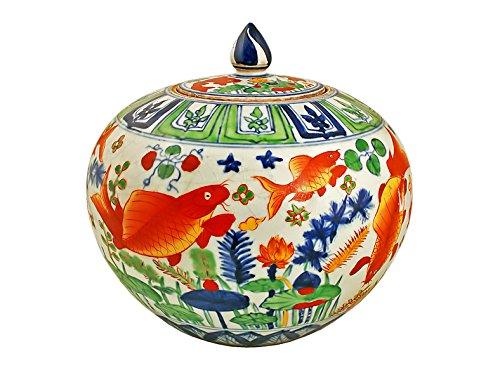 Mr Fredric Chinois Famille Rose Bowl, Multicolore, 30 cm