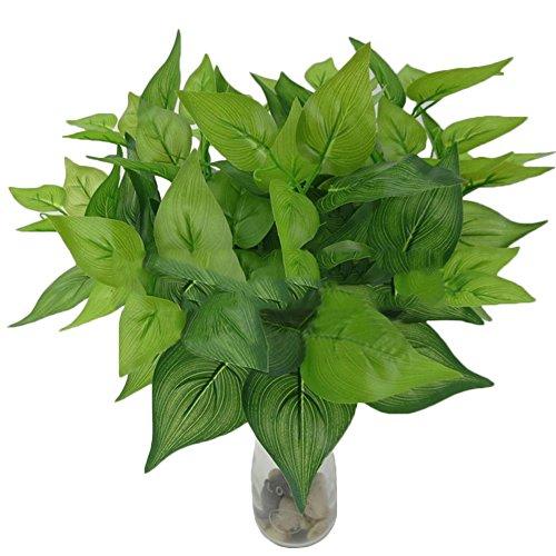 1Stück Fake grünen Bush Indoor Outdoor Kunstpflanze Büro Garten Decor, plastik, #3, Einheitsgröße (Indoor-gras Fake)