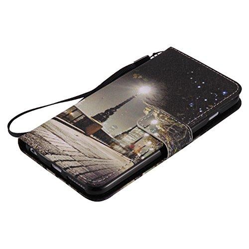 iPhone 6Plus/6S Plus 14cm avec Bumper plaqué, newstars 3en 1Coque antichoc ultra fine Texture PC Coque arrière de protection rigide Shell Housse Coque protection tous les rond pour iPhone 6Plus/6 H- Castle Series 1