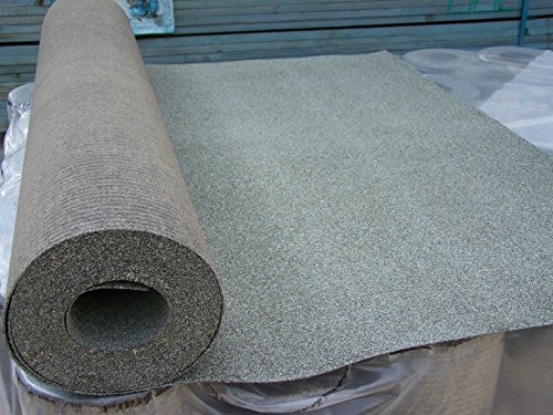 Shed Roofing Felt Green Mineral 10m X 1m Rattan