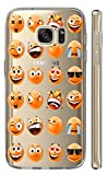 Hülle für Samsung Galaxy J3 2017 J330/Dous Softcase Cover Backkover Motiv (2463 Emojis)