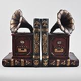 Best Boom Box Cds - Motif Gramophone Étagère range-livres-The Hipster étude de bureau Review