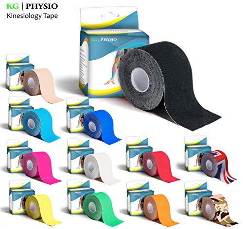 Vendaje Neuromuscular – KG | PHYSIO - Vendaje para el soporte muscular – Rollo 5cm x 5m – 11 colores disponibles!