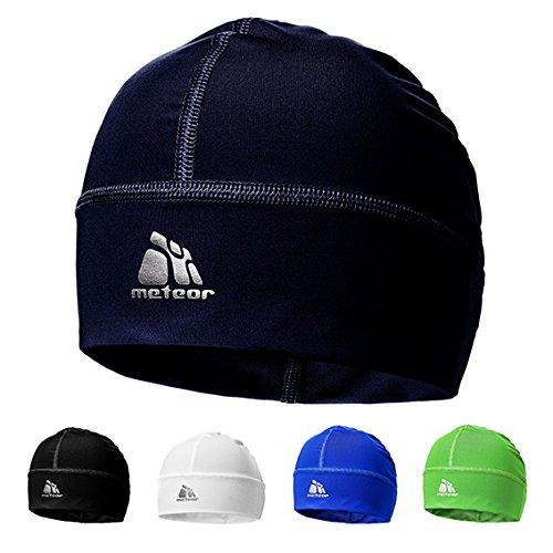 meteor  Shadow Mütze der mit Silberionen eingeträufelt - Unisex Winddicht Skull Cap ideal als Kopfbedeckung für's Laufen, Skifahren, Snowbording, Joggen, oder als...