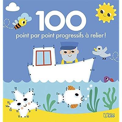 100 point par point progressifs à relier ! - Dès 4 ans