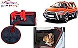 #9: Auto Pearl - Premium Make Red Black Car Pet Seat Cover For - Toyota Etios Cross