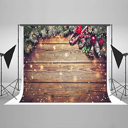 S 2,2x1,5m Weihnachten Foto Hintergrund Holz Hintergrund Weihnachten Foto Hintergrund Weihnachten Dekorationen Hintergrund Fotografie ()