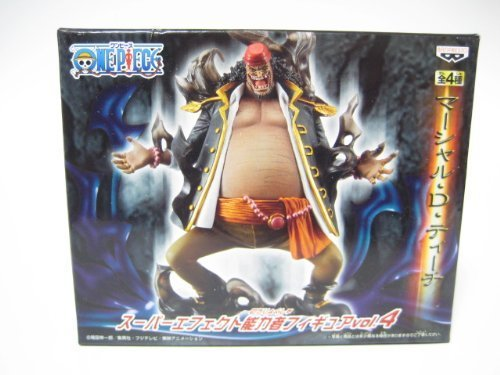 Marshall D Teach Super Effect psychic figure vol. 4 Banpresto one piece not for sale (japan import)