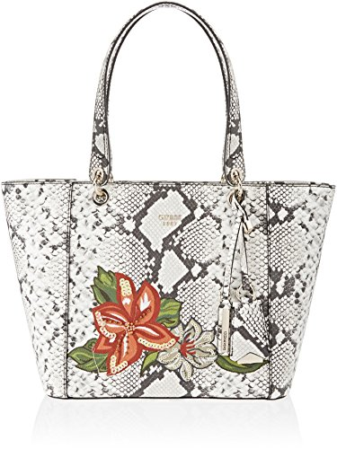 Guess Damen Bags Hobo Schultertasche, Mehrfarbig (Python Multi), 15x26.5x42 centimeters -